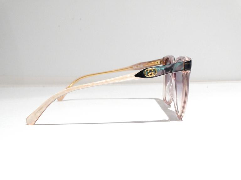 Rare 1970s Mother of Pearl Gucci Sunglasses  8