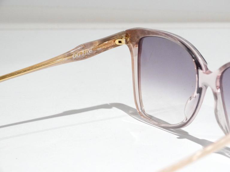 Rare 1970s Mother of Pearl Gucci Sunglasses  9
