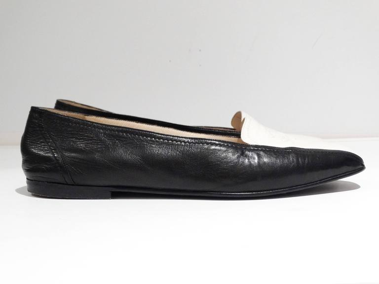 1984 Chanel Two-Tone Loafer  2