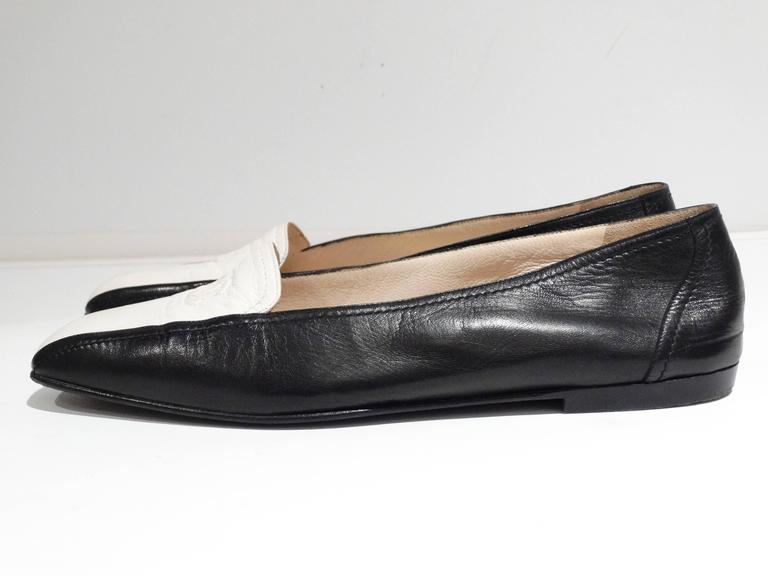 1984 Chanel Two-Tone Loafer  4