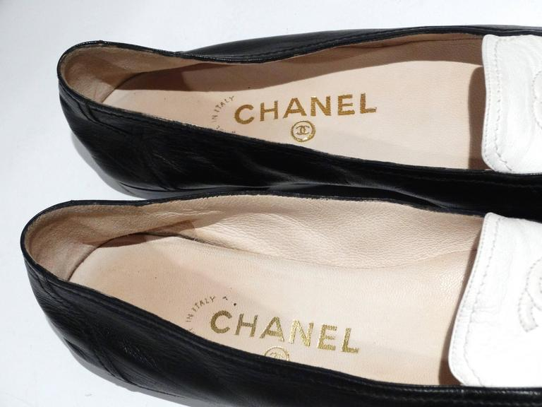 1984 Chanel Two-Tone Loafer  7