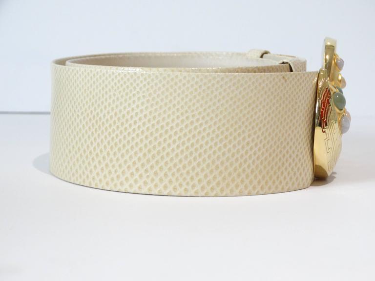 Judith Leiber Trojan Horse Belt, 1980s   For Sale 2