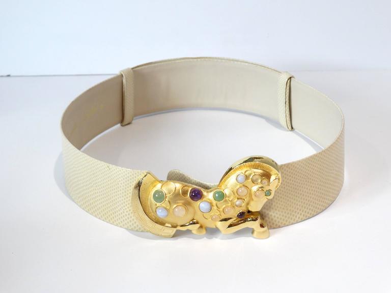 Judith Leiber Trojan Horse Belt, 1980s   For Sale 1