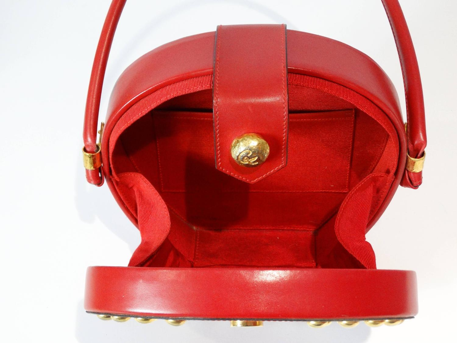 1990s Christian Lacroix Couture Top Handle Bag For Sale At
