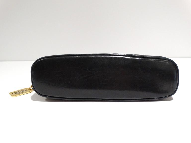 1980s Chanel 31 Rue Navy Shoulder Bag 9