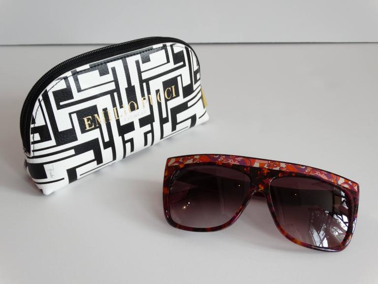 1990s Emilio Pucci Confetti Sunglasses  For Sale 1