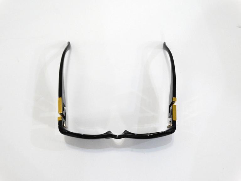1990s Gianni Versace Greek Key Logo Sunglasses 10