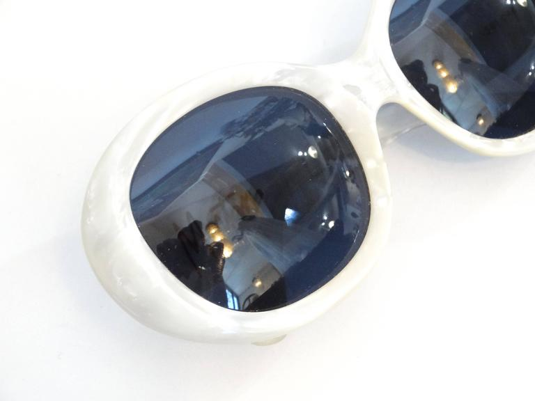 1960s Claude Montana Mother of Pearl Sunglasses 3