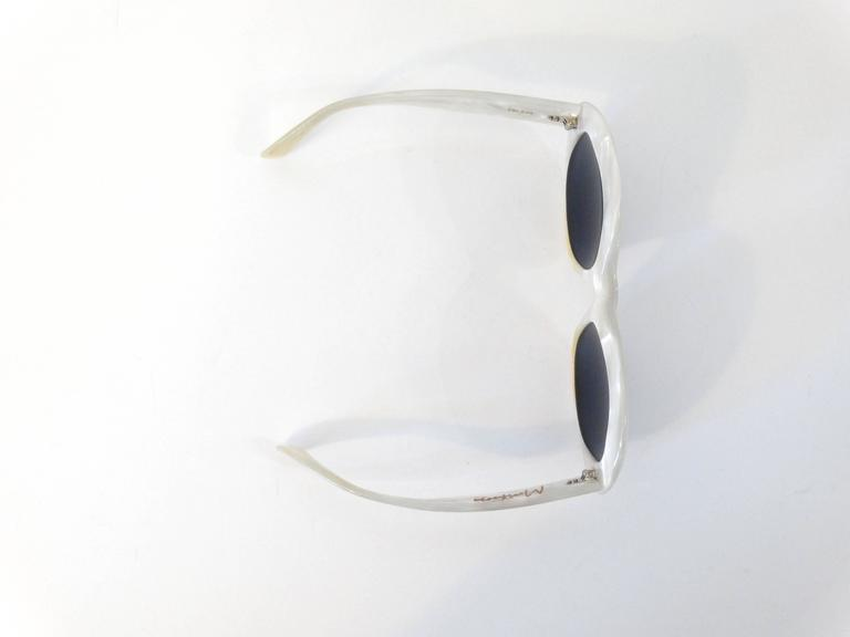 1960s Claude Montana Mother of Pearl Sunglasses 7