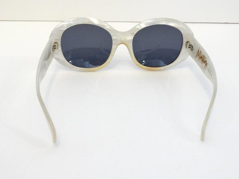1960s Claude Montana Mother of Pearl Sunglasses 5