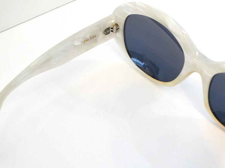 1960s Claude Montana Mother of Pearl Sunglasses 8