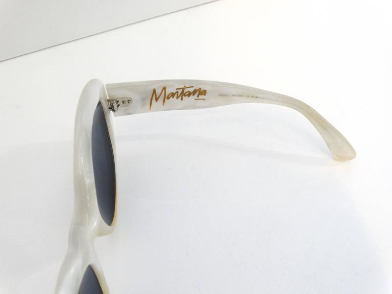 1960s Claude Montana Mother of Pearl Sunglasses 6