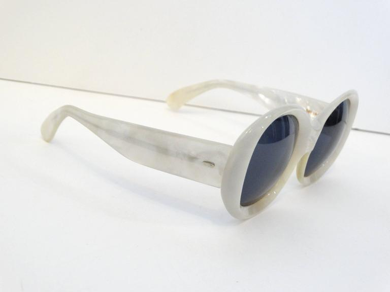 1960s Claude Montana Mother of Pearl Sunglasses 10