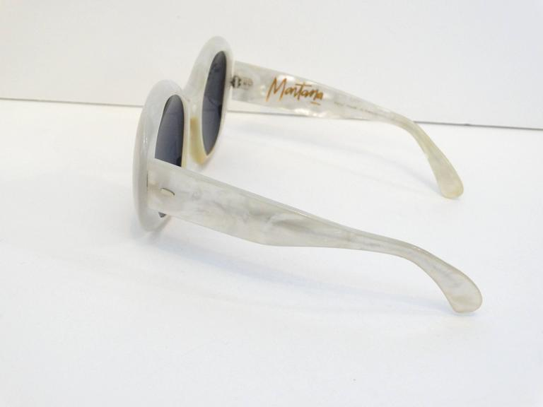 1960s Claude Montana Mother of Pearl Sunglasses 4