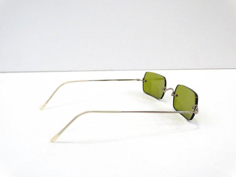 Women's Oliver Peoples Olive Green Lens Sunglasses