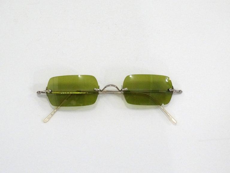 Oliver Peoples Olive Green Lens Sunglasses 1