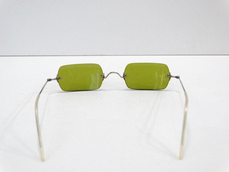 Oliver Peoples Olive Green Lens Sunglasses 3