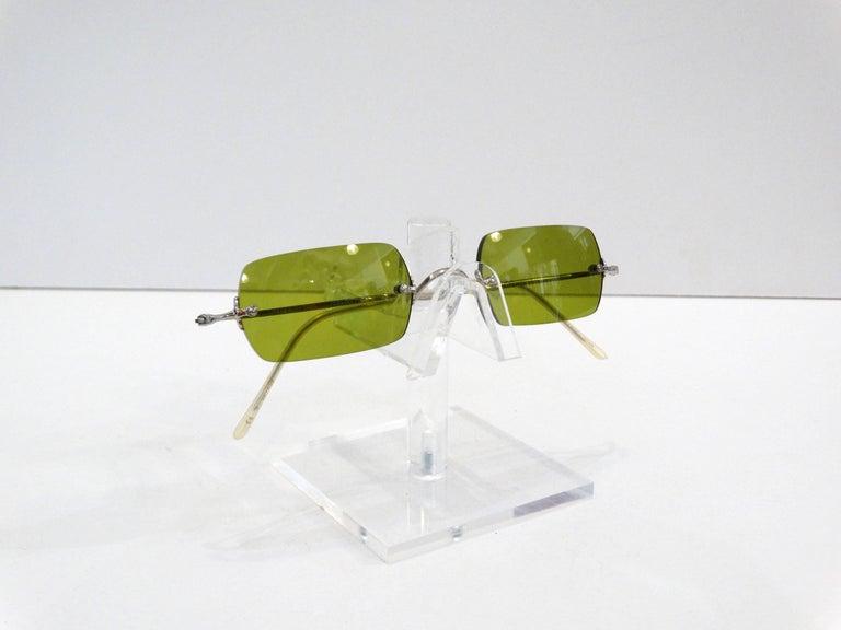 Oliver Peoples Olive Green Lens Sunglasses 4