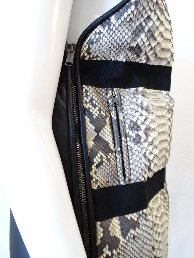 Damir Doma Python Vest  For Sale 1