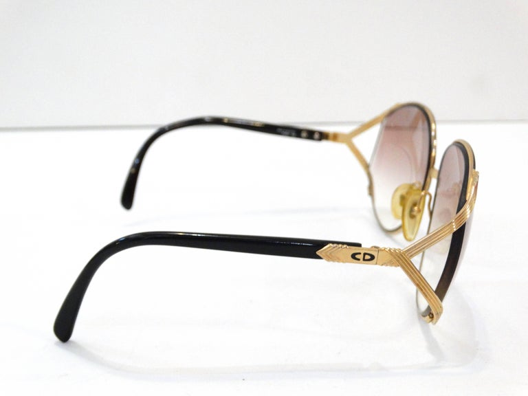 Iconic Christian Dior Oversized Sunglasses For Sale 1