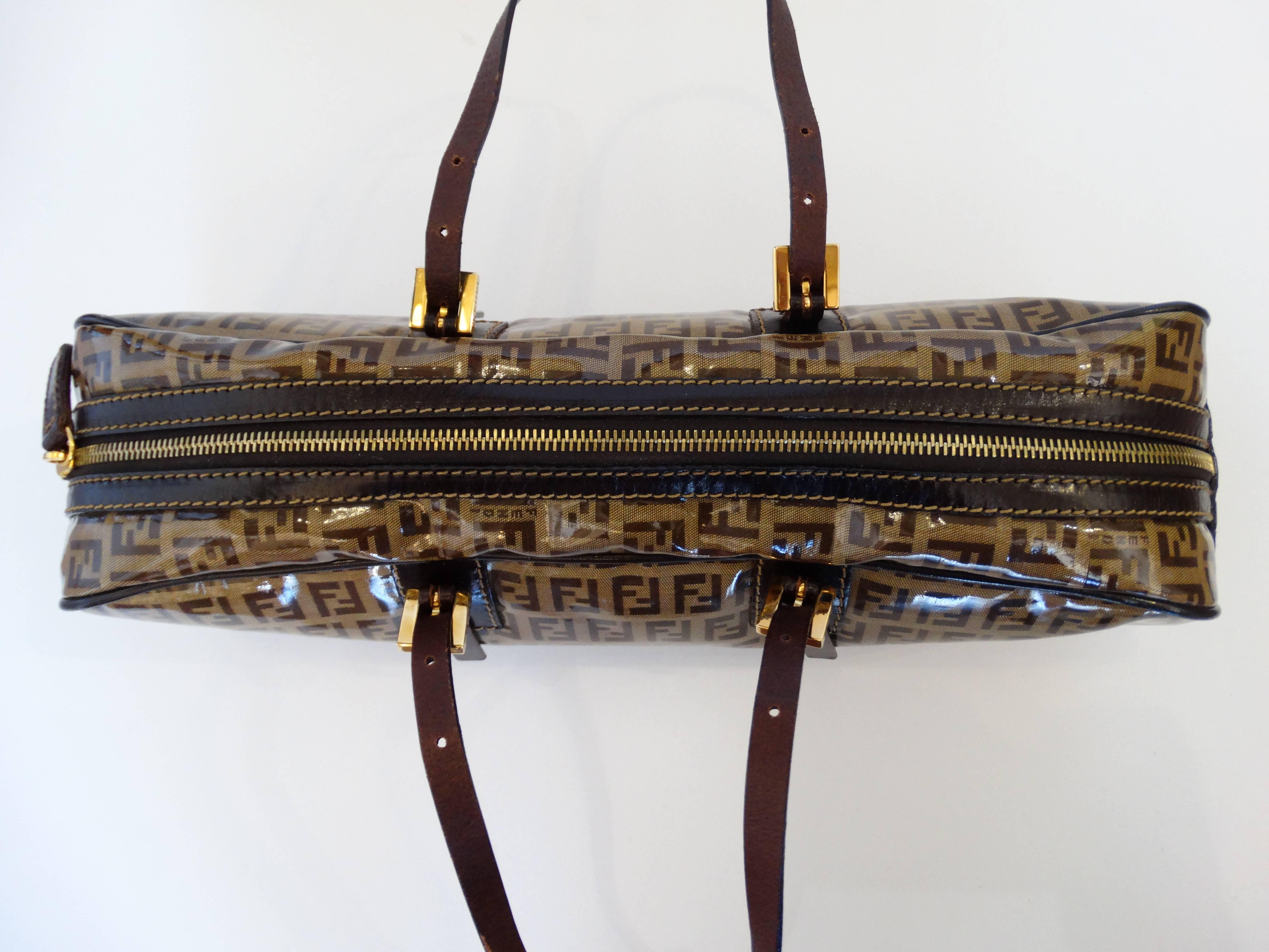 108558a7d971 ... usa fendi glossy vinyl zucchino monogram bag for sale 1 881de 98fbb ...