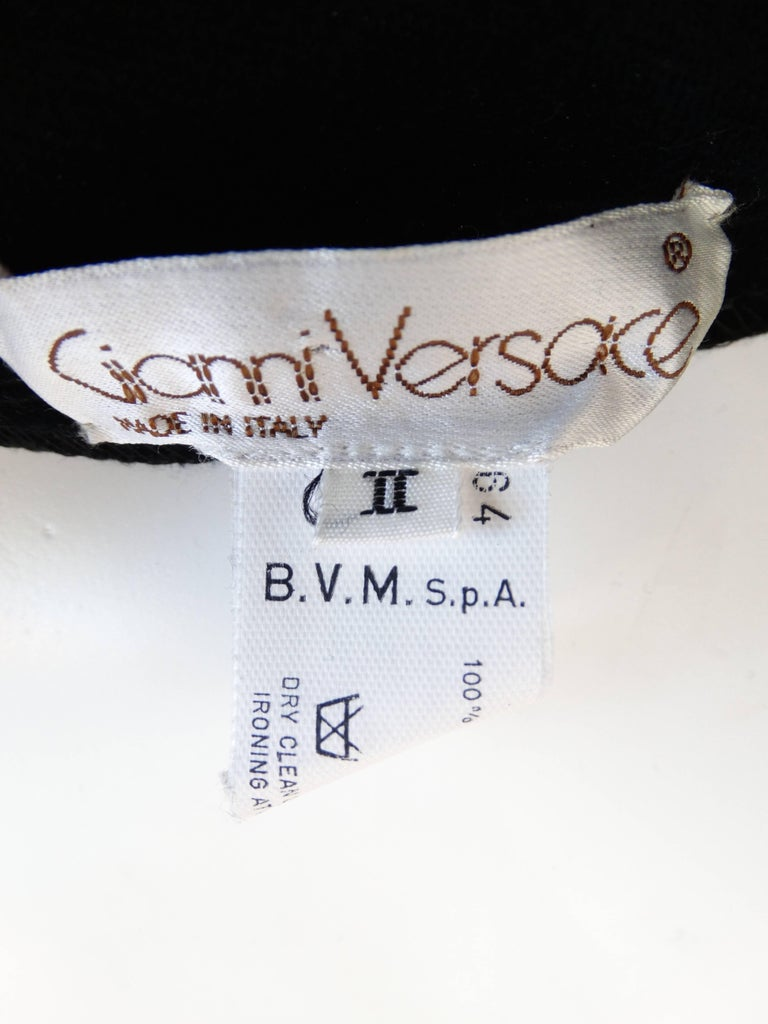 1980s Gianni Versace Velvet Riding Pants 6