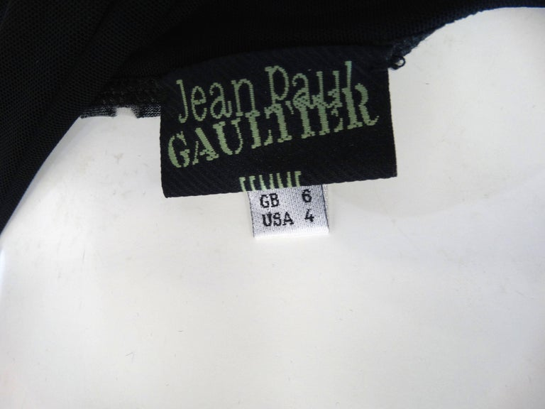 339c41ea2cf 1990s Jean Paul Gaultier Gothic Tube Dress at 1stdibs