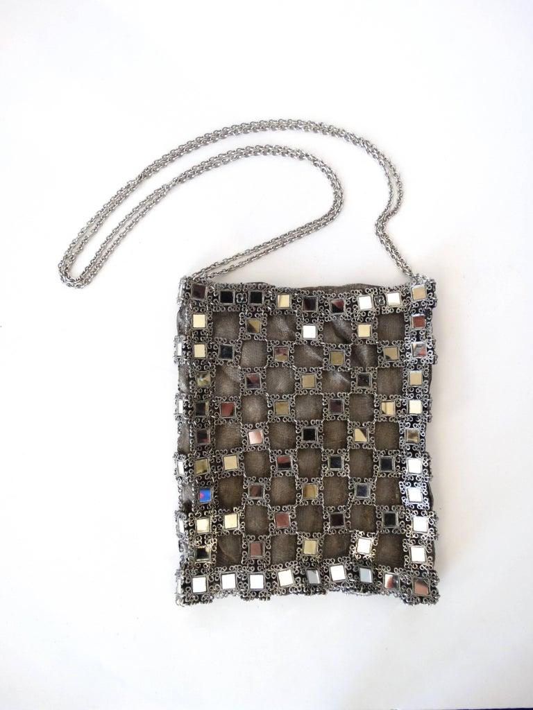 1990s Clara Kasavina Mirrored Evening Bag  For Sale 2