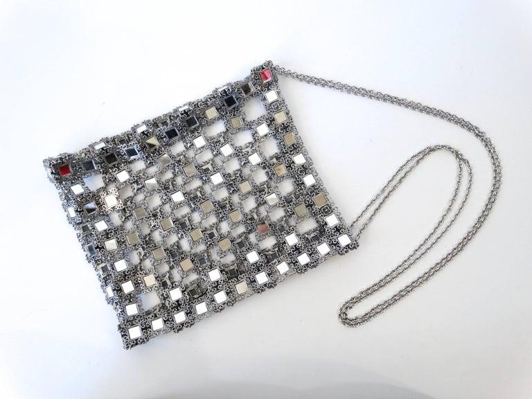1990s Clara Kasavina Mirrored Evening Bag  For Sale 1