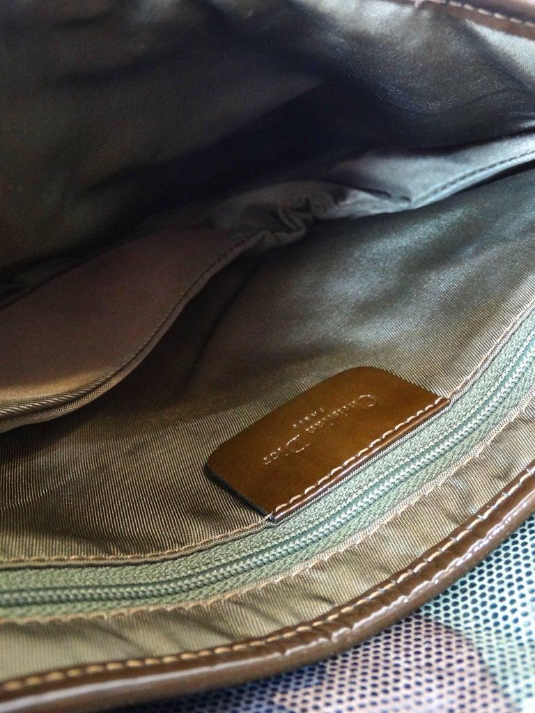 Christian Dior Camouflage Saddle Bag For Sale 1