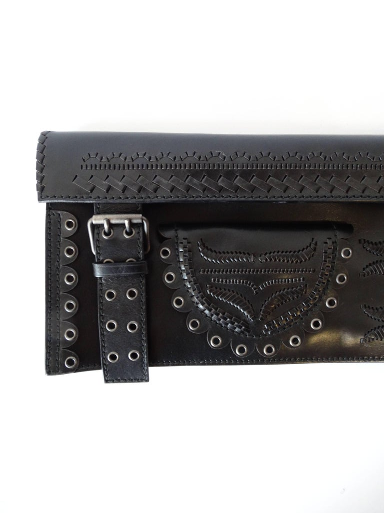 Tom Ford Yves Saint Laurent Fw 2001 Clutch For Sale At 1stdibs