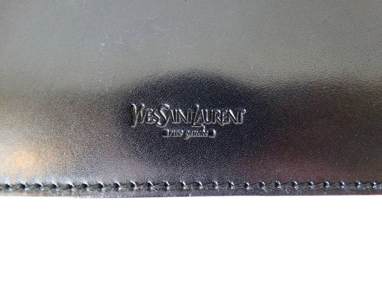 eb7d4bc1fd6 Tom Ford Yves Saint Laurent FW 2001 Clutch In Excellent Condition For Sale  In Scottsdale,
