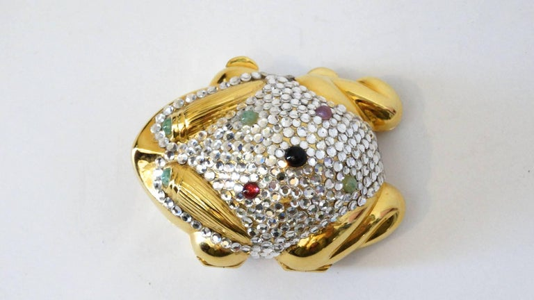 Judith Leiber Frog Pillbox, 1984   For Sale 1