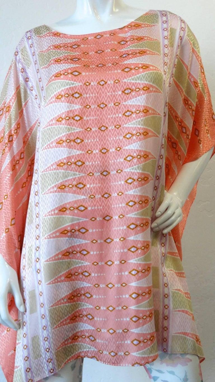 Bob Mackie Wearable Art Poncho Tunic, 1980s   For Sale 6