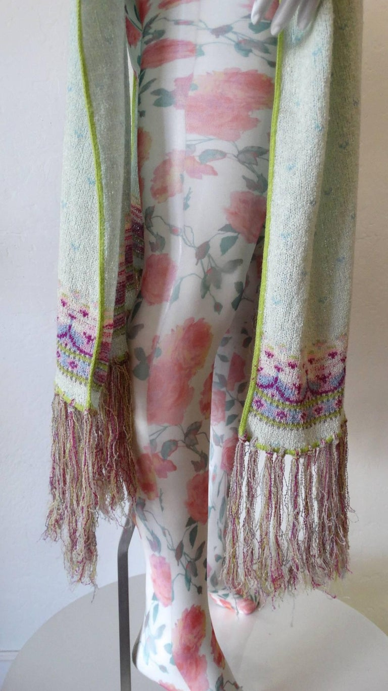 Bill Gibb Knit Duster Jacket, 1970s  For Sale 9