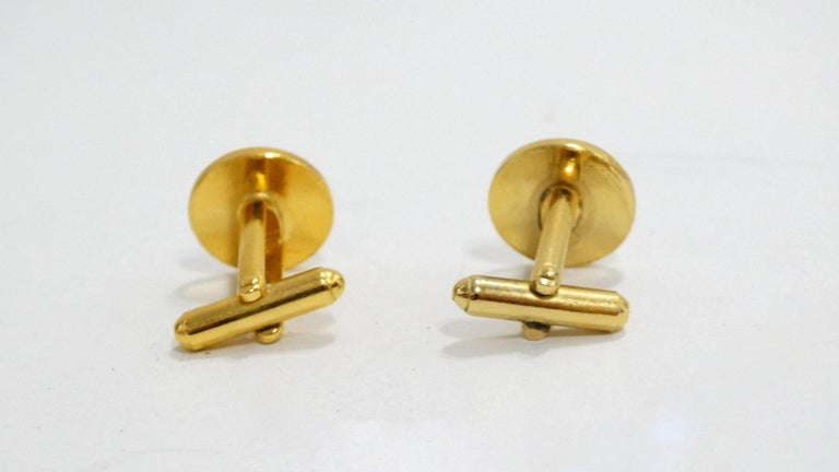 Yves Saint Laurent Cufflinks  For Sale 2