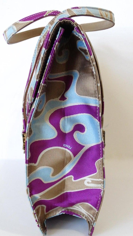 Women's 2000s Fendi Psychedelic Swirl Bag  For Sale