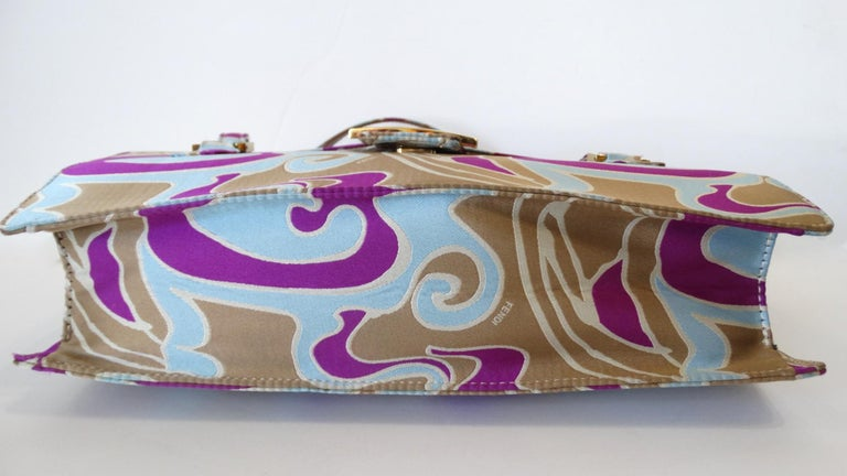 2000s Fendi Psychedelic Swirl Bag  For Sale 9
