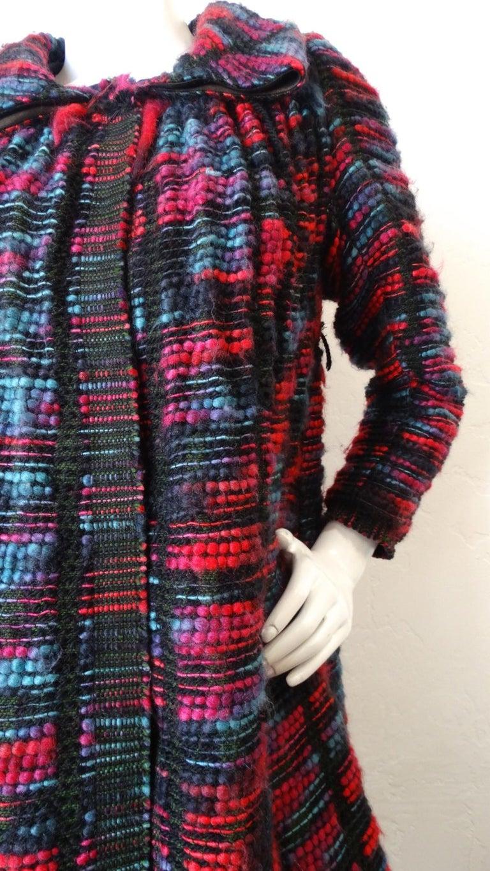 1980s Isabel Toledo Handwoven Silk Coat  For Sale 1