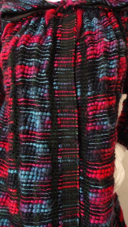 1980s Isabel Toledo Handwoven Silk Coat  For Sale 8