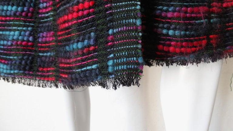 1980s Isabel Toledo Handwoven Silk Coat  For Sale 5