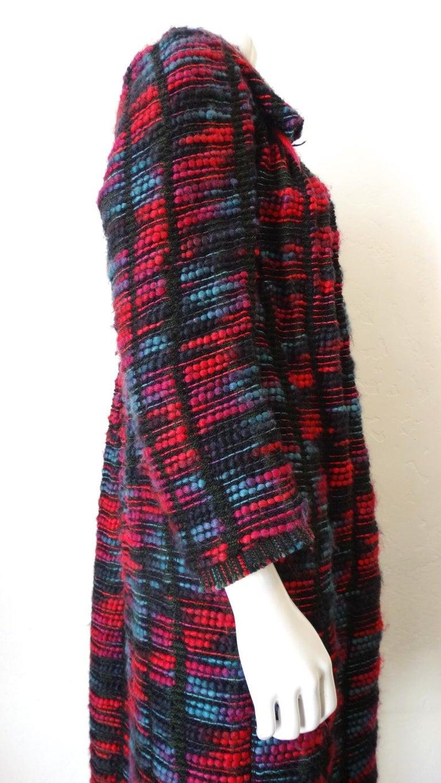 1980s Isabel Toledo Handwoven Silk Coat  For Sale 6
