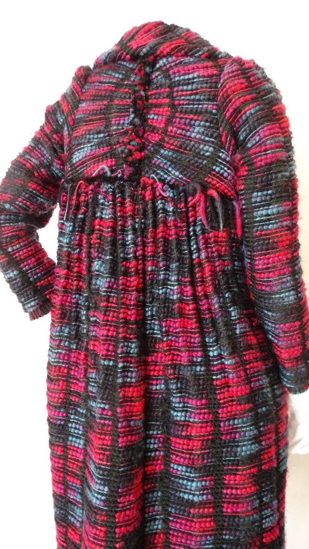 1980s Isabel Toledo Handwoven Silk Coat  For Sale 7