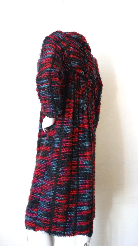 1980s Isabel Toledo Handwoven Silk Coat  For Sale 2
