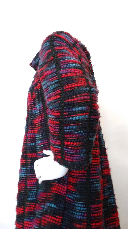 1980s Isabel Toledo Handwoven Silk Coat  For Sale 4