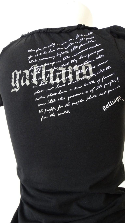 2000s John Galliano Corset Printed T-Shirt  For Sale 3