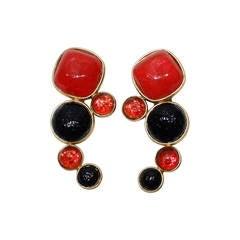 1980's Dominique Aurientis Paris Earrings