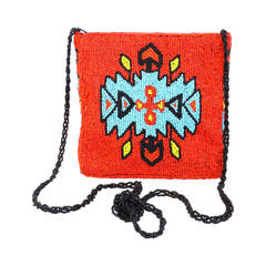 Beaded Southwest Tribal Shoulder bag, 1993