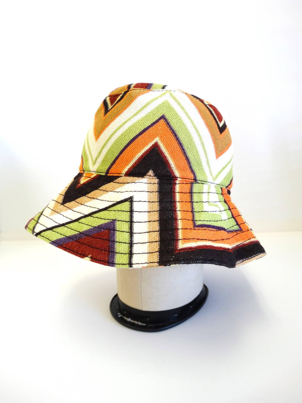 Vintage missoni knit bucket hat at stdibs jpg 1280x1706 Missoni hat cf4720f1e71
