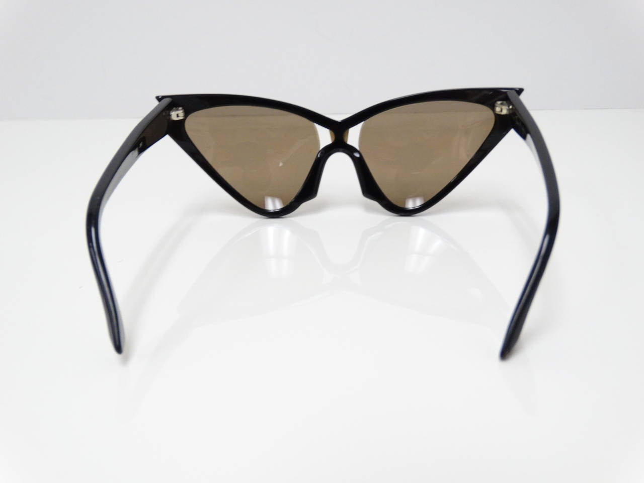 1980s Thierry Mugler Quot Cat Eye Quot Sunglasses At 1stdibs